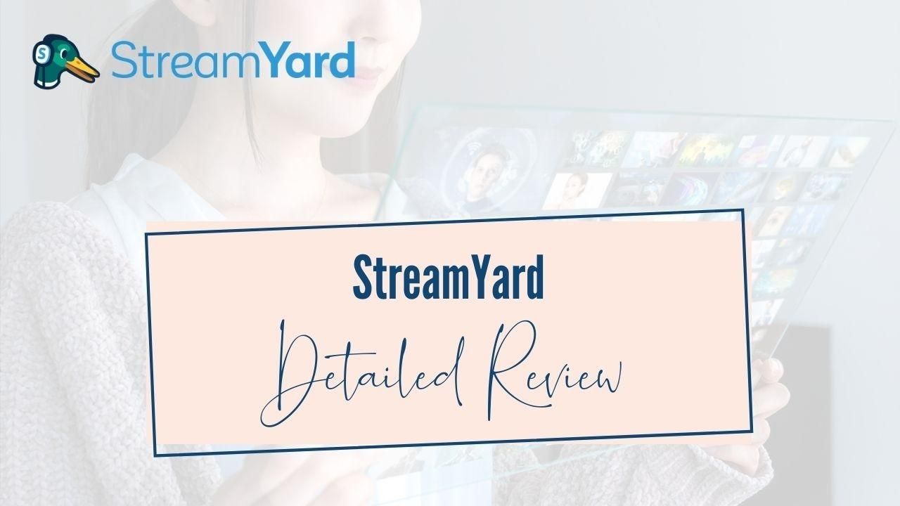 StreamYard Review