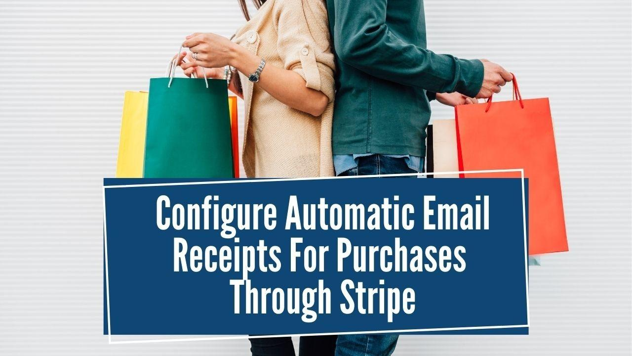 Kajabi Tutorial : How to Configure Automatic Email Receipts in Stripe For Course Purchase in Kajabi