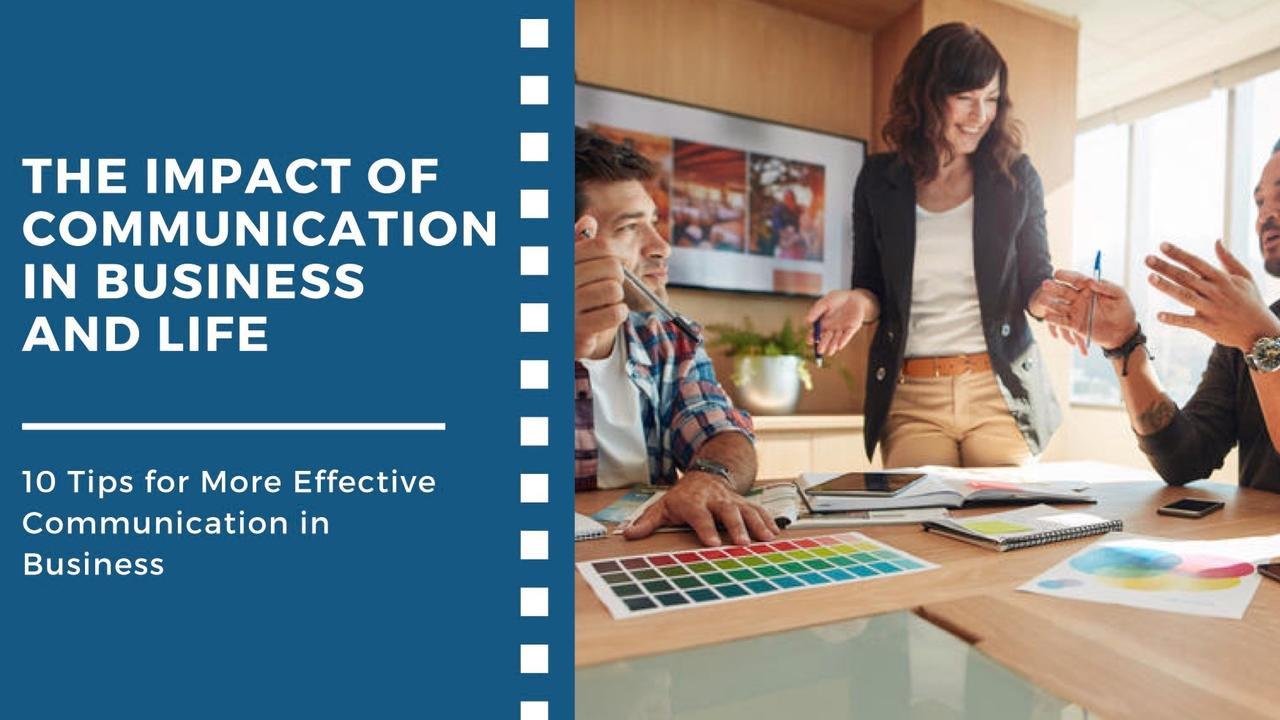 10 Tips for More Effective Communication in Business