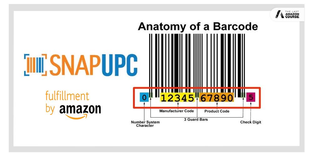snapupc amazon upc codes