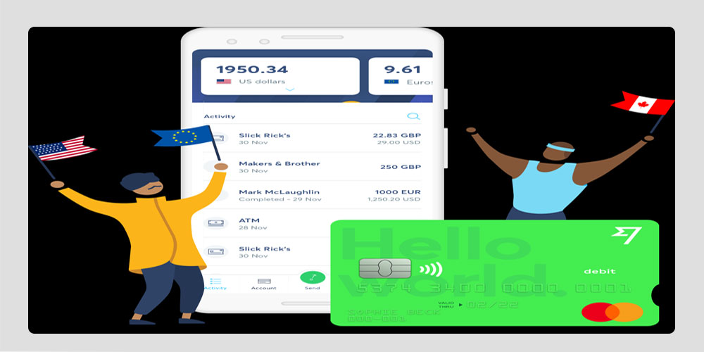 Transferwise currency transfers