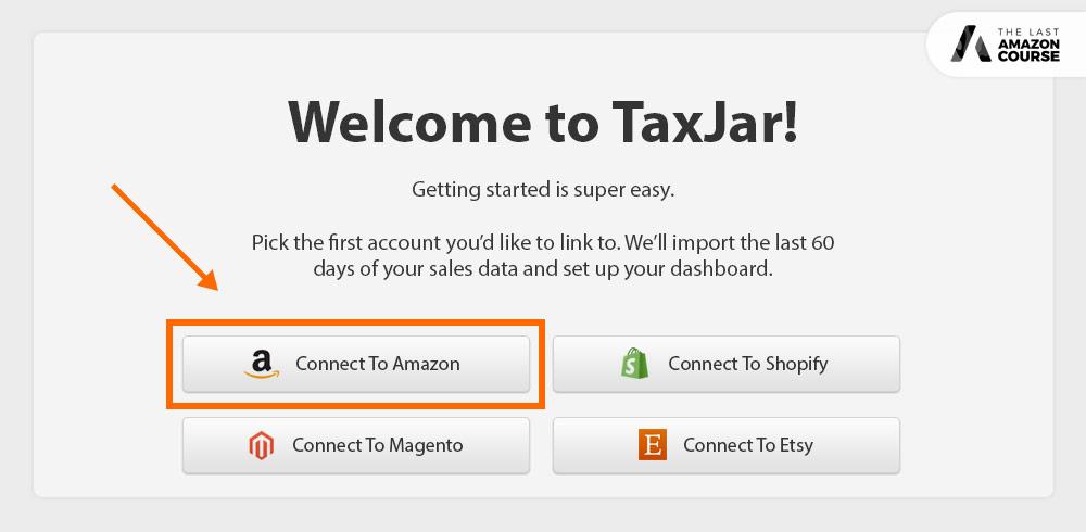 Taxjar Connect To Amazon