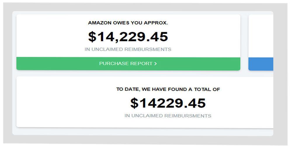 Getida Amazon reimbursement software