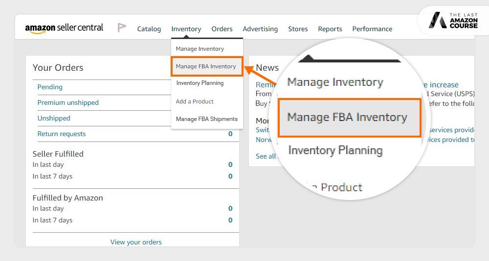 Amazon Buy Box Eligible Manage Inventory