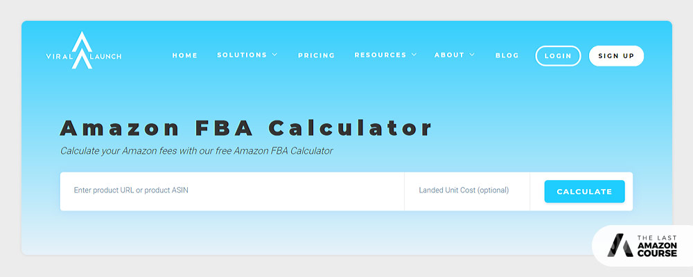 Viral Launch Amazon FBA Calculator