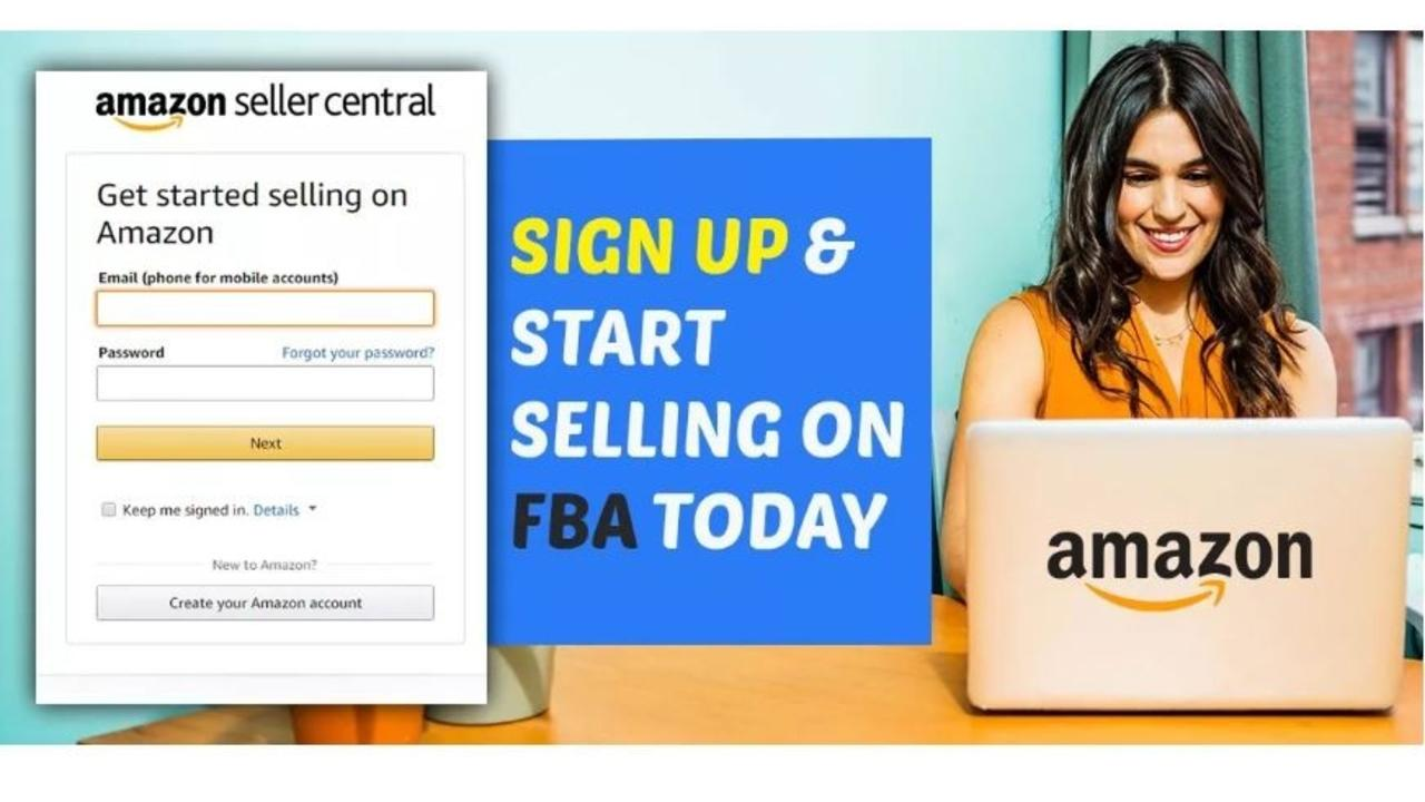 how to set up an amazon seller account