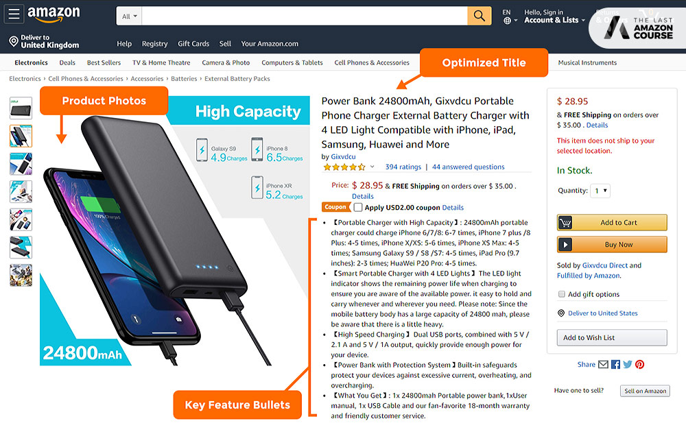 how to create Amazon listing