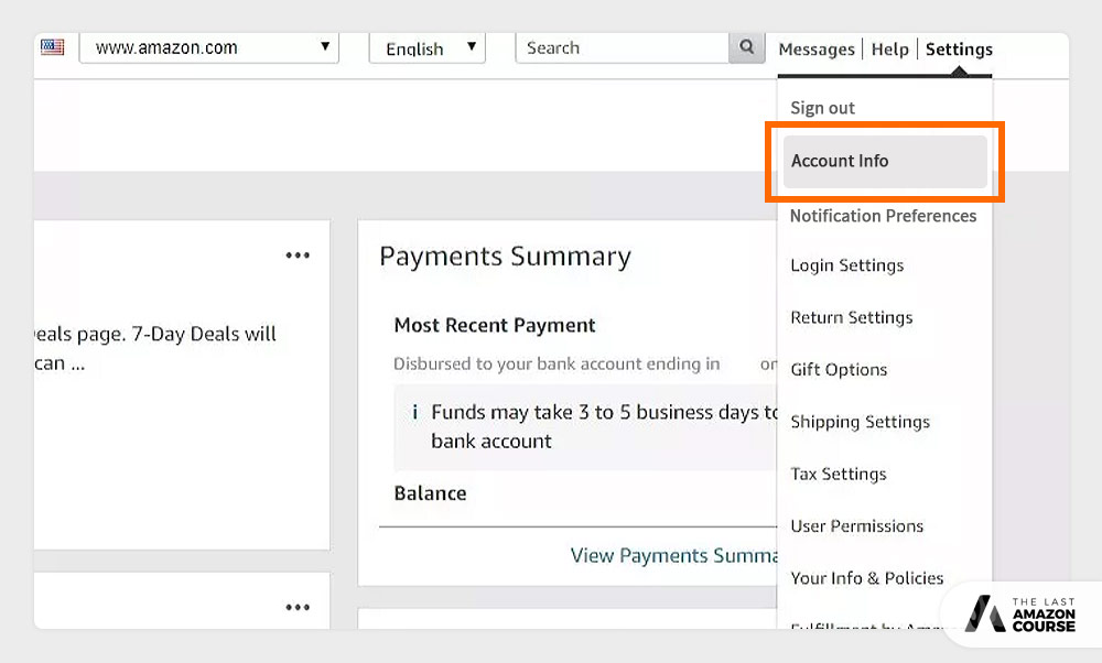 How to Change Amazon Selling Plans Account Info
