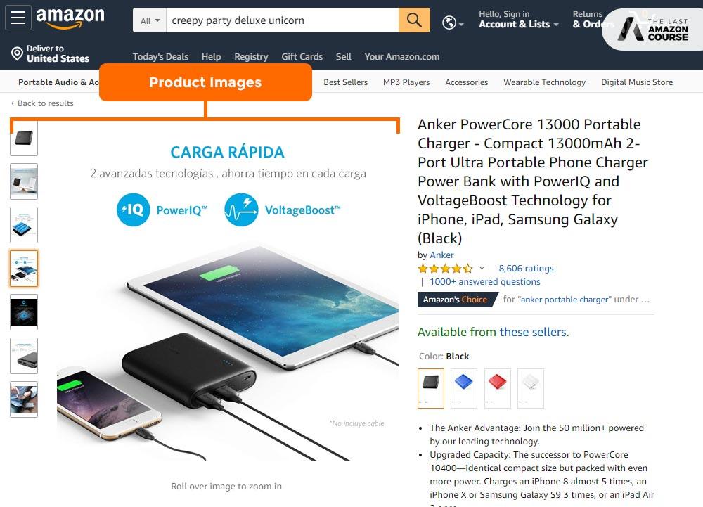 Amazon Listing Images