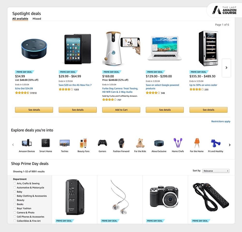 Amazon Spotlight Deals
