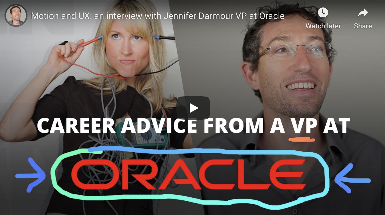 Career Advice From A VP At Oracle