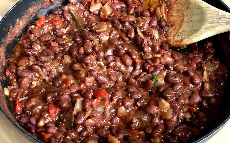Puerto Rican Red Bean Stew
