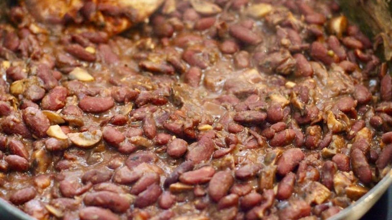 Oil Free Refried Kidney Beans For Tacos Baked Potatoes More