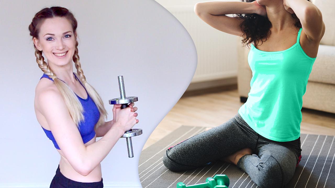 Растяжка упражнения для спины и шеи за 5 минут