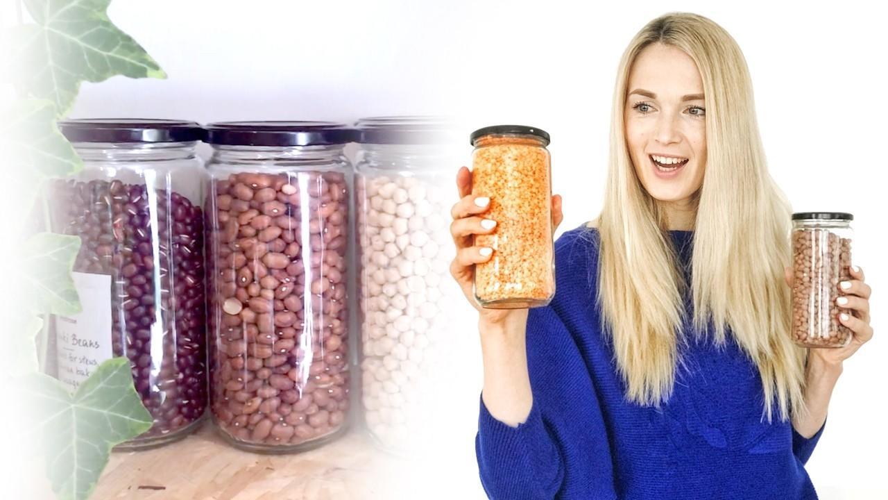 Организация и хранение на кухне. Новая жизнь стеклянных банок.
