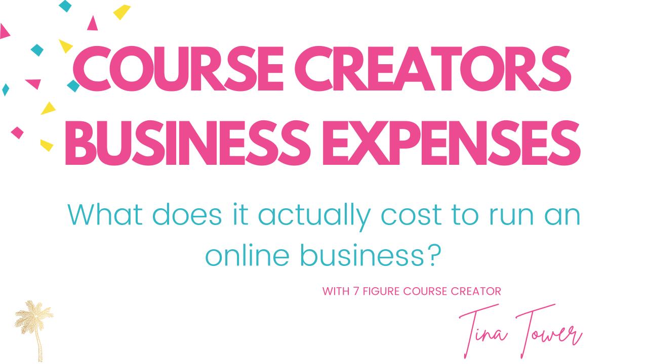 digital online course expenses her empire builder