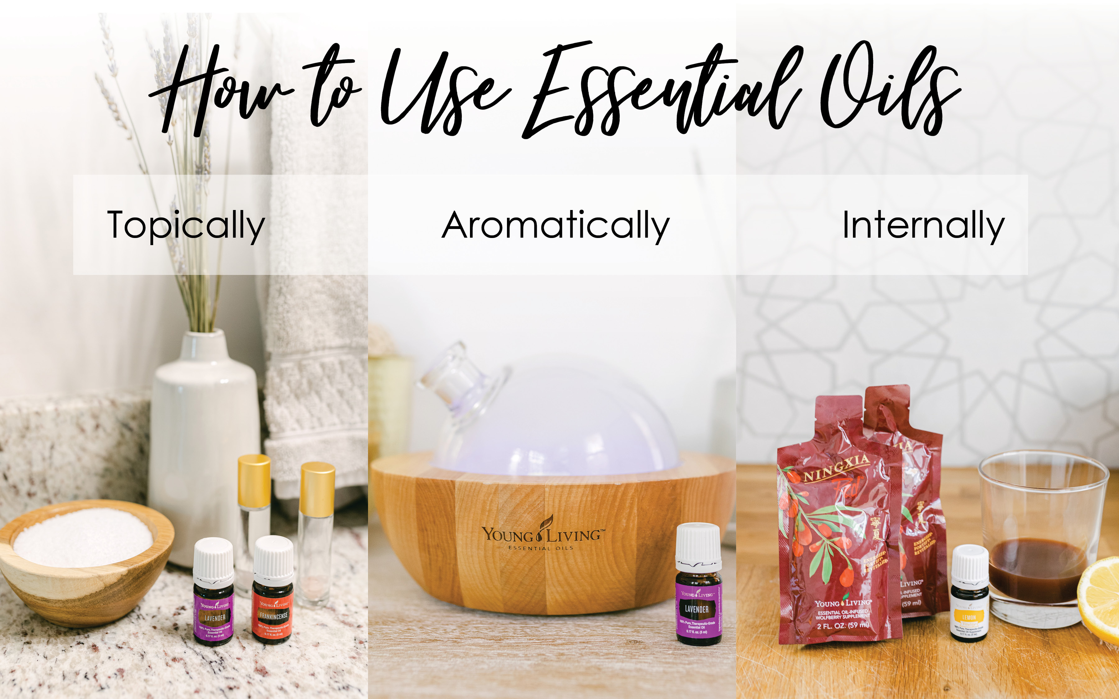 how to use essential oils 101
