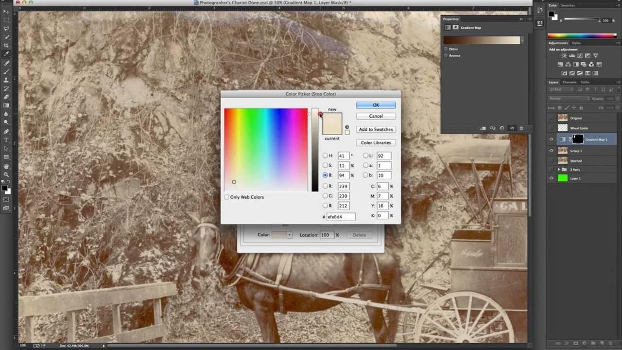 Photo Restoration Workflow