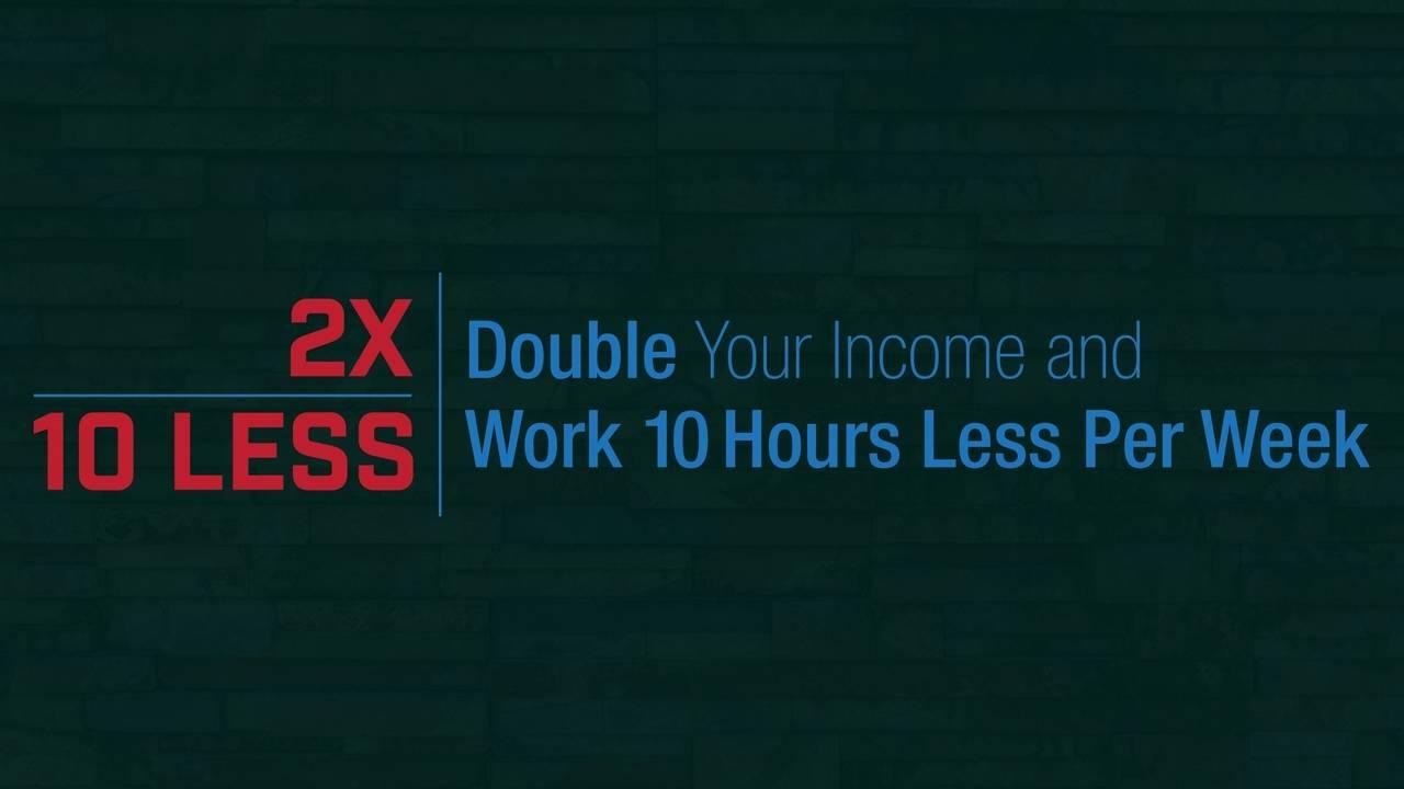 2x & 10 Less