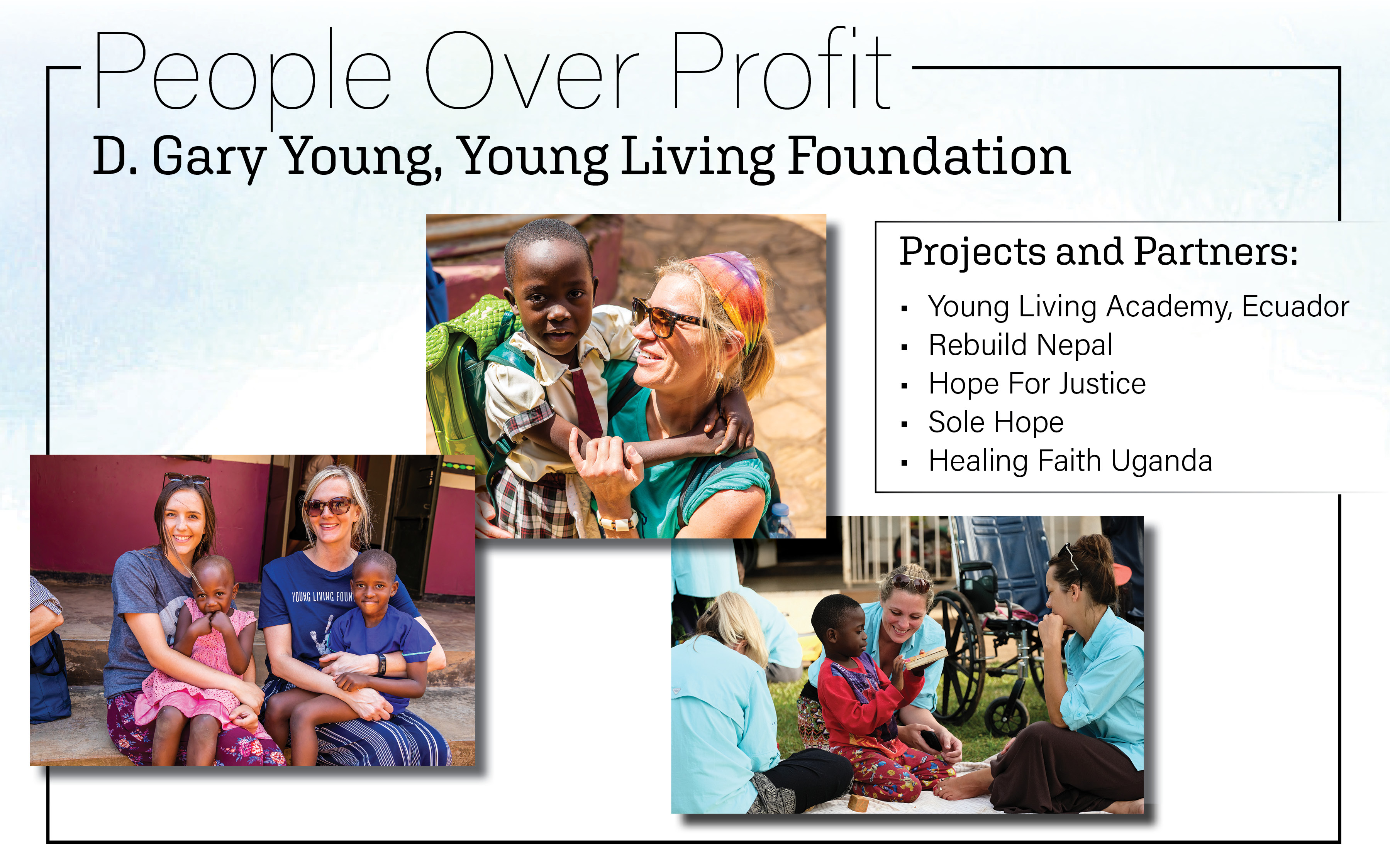 The heart of young living