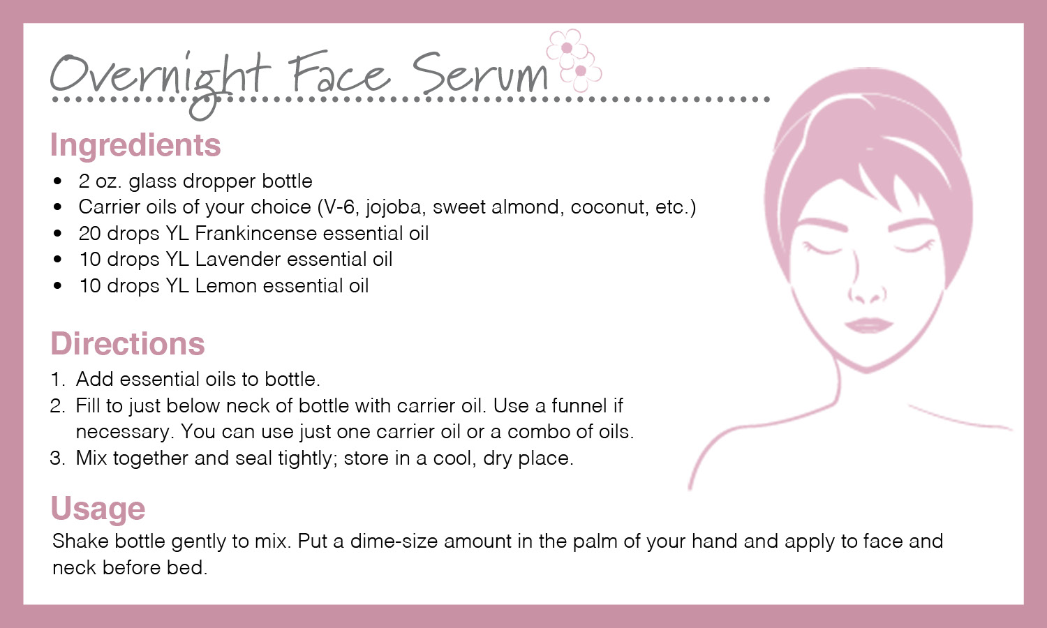 overnight face serum, holiday gift giving
