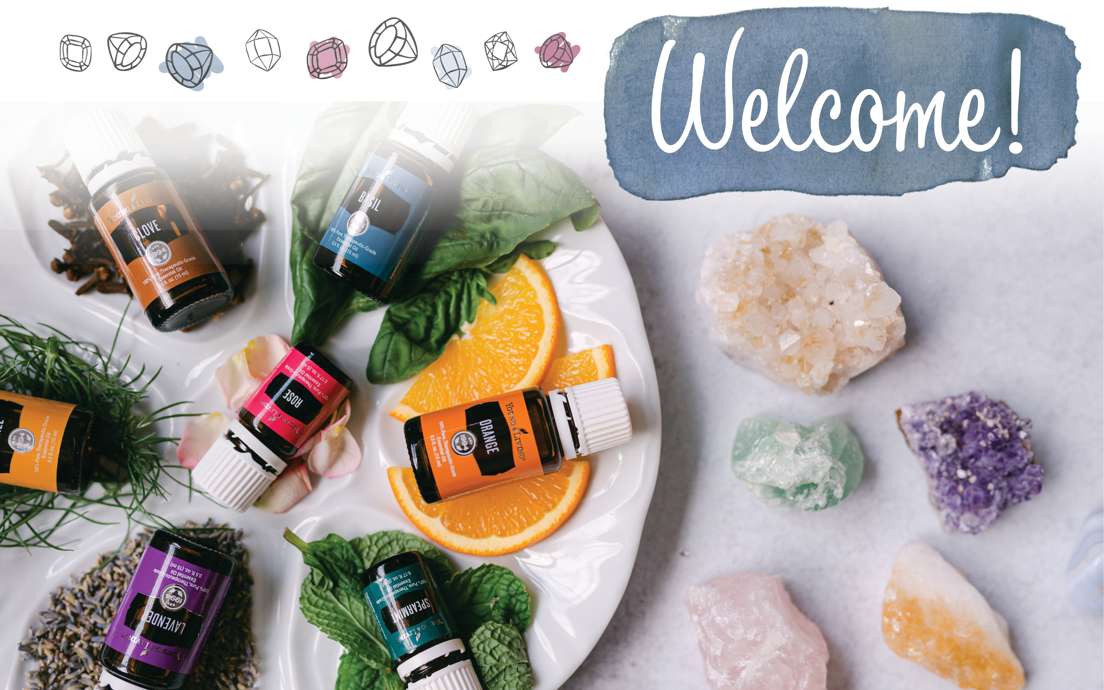 the history - essential oils and crystals