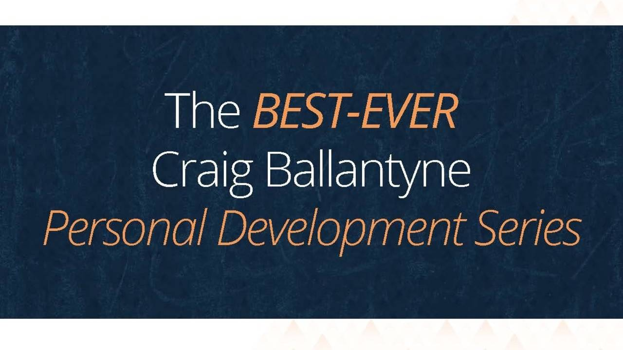 Best of CB's Personal Success Sessions