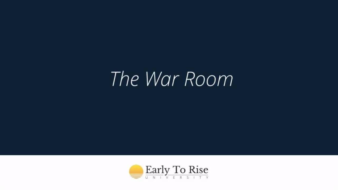 The War Room Blueprint