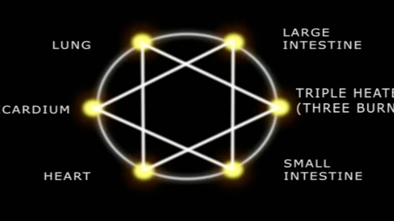 Meridians and Nadis