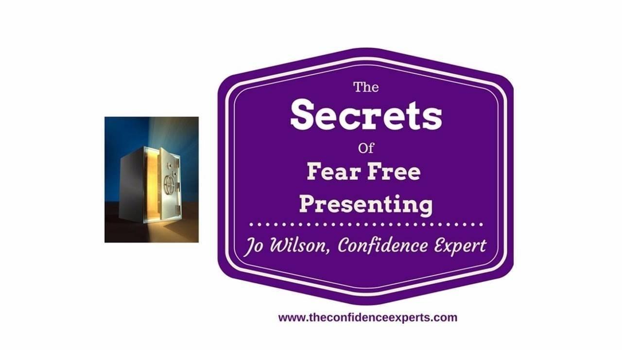 Fear Free Presenting