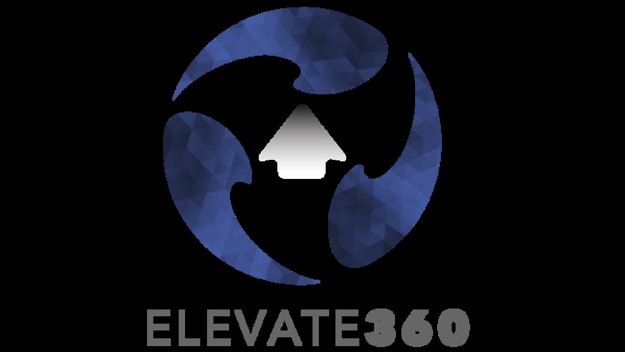 Nvbdcyrrho7bydkep1nx elevate360 logo navy