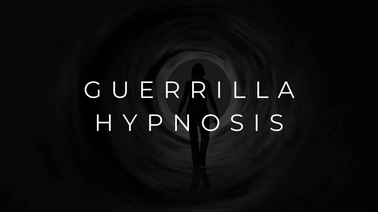 Yk1tsrkitmikiyjtillp guerrilla hypnosis