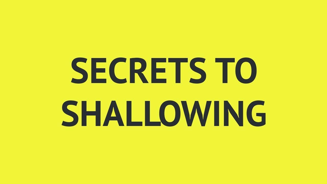 Flamqodfsau05d0afqva secrets to shallowing