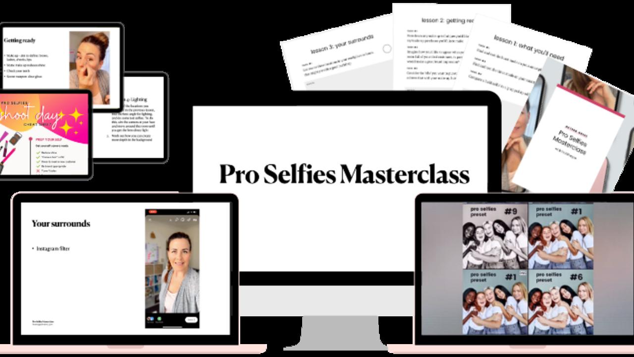 Xdvwdfffsuin04ygcviy pro selfies course previews