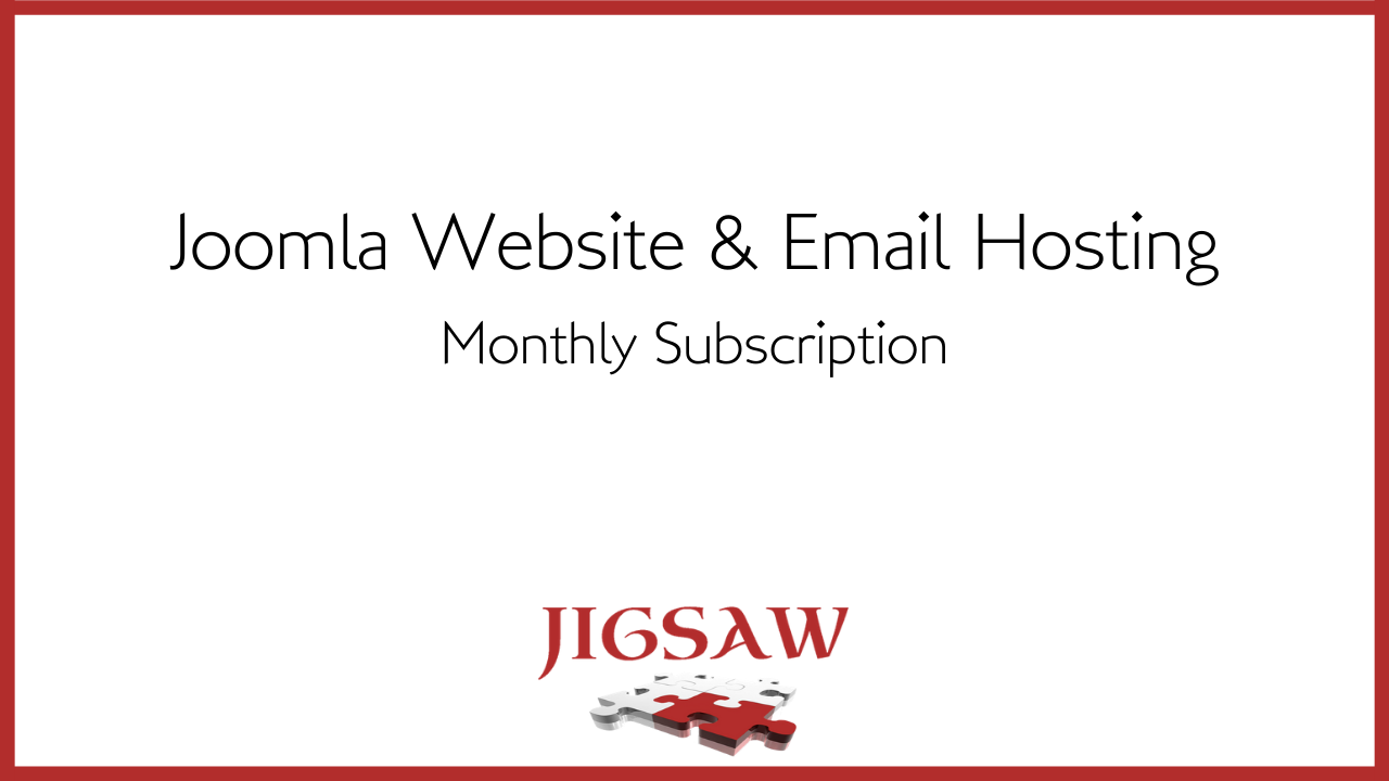 Lxbe85ltyeqhzpmhhixc joomla website email hosting monthly subscription