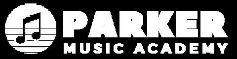 Yqtj5mjutyalt4wwbbdl parker music academy logo   white   transparent