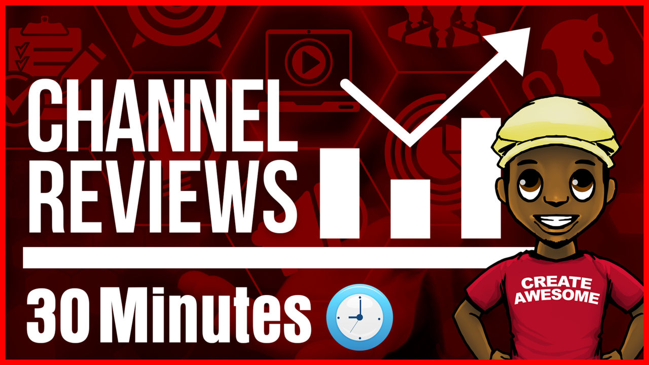 a660ca429e7 YouTube Channel Review 30 Mins w  Roberto Blake