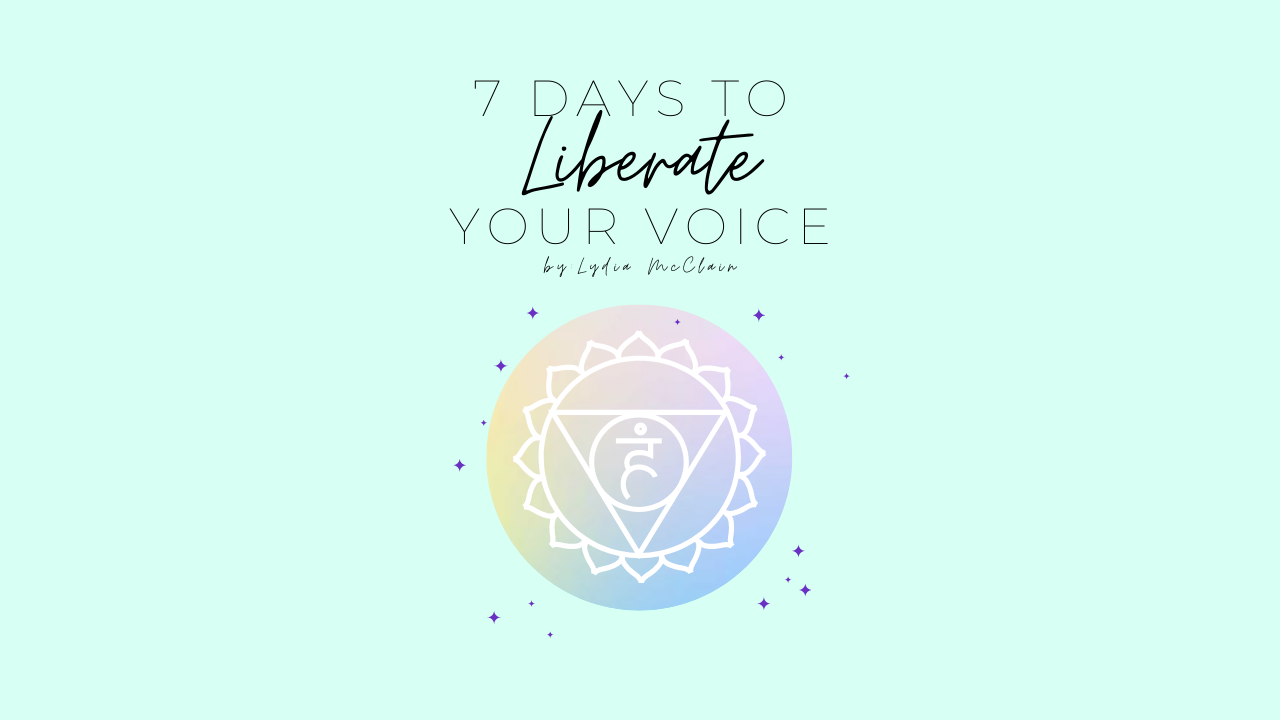 Hxj1u18urcahfnqufd8k 7 days to liberate your voice  checkout page cover