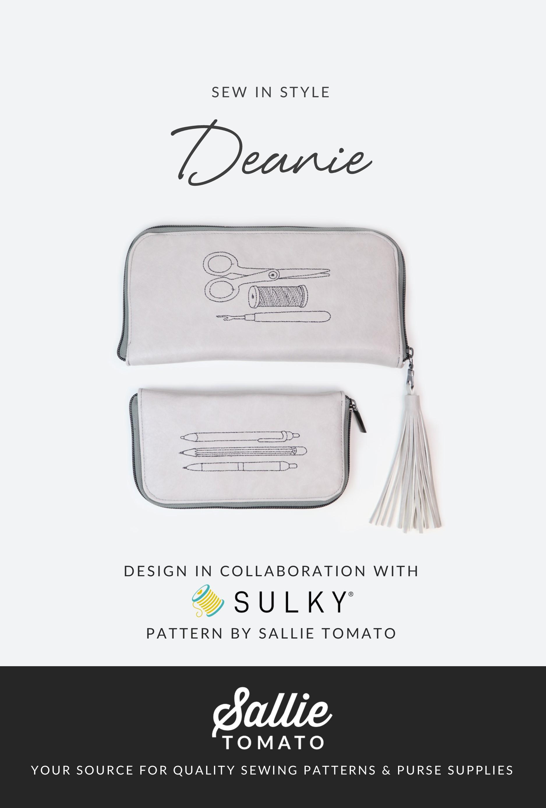 Deanie pouch pattern