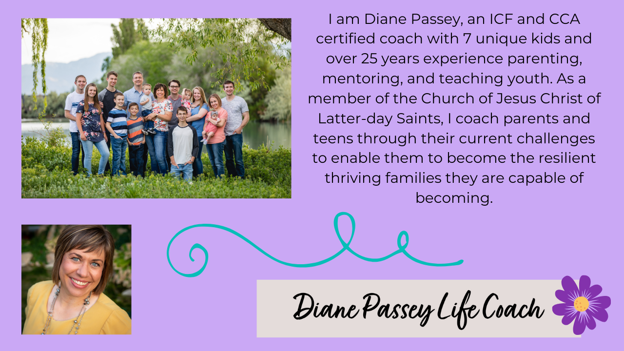 6hg4mnaxtloh7qy49jpc i am diane passey an icf and cca certified coach with 7 unique kids and over 25 years experience parenting mentoring and teaching youth. as a member of the church of jesus christ of latter day saints i coac 1