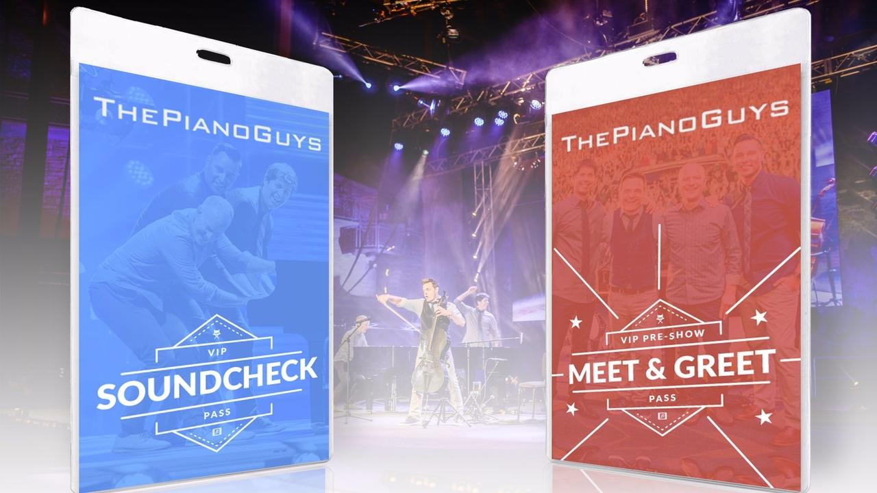 Meet Greet And Soundcheck Passes The Piano Guys