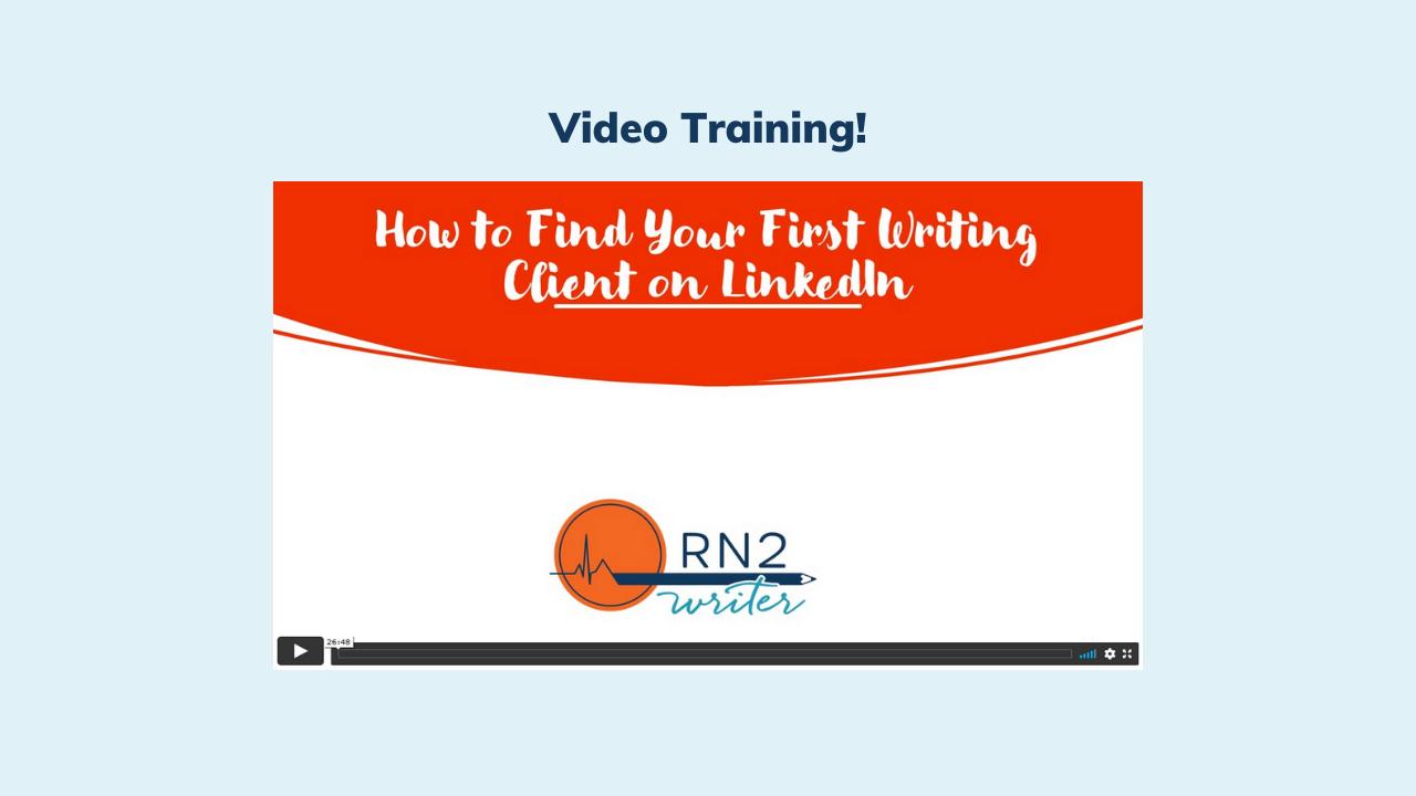 Bvmt9tyatfirkhm19zcq image kajabi product video training find your first writing client linkedin
