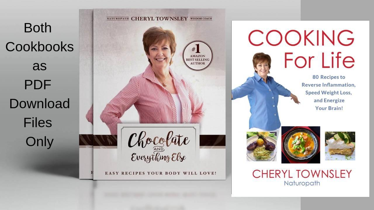 2 cookbooks as pdf downloadable files