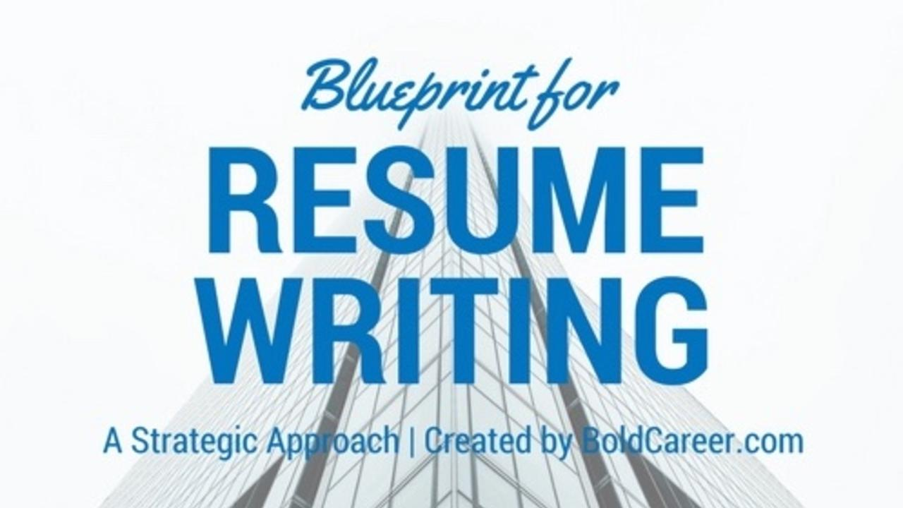resume writing course