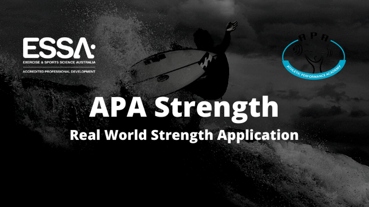 Re0nrztvrmu01uvypv6p apa strength real world strength application