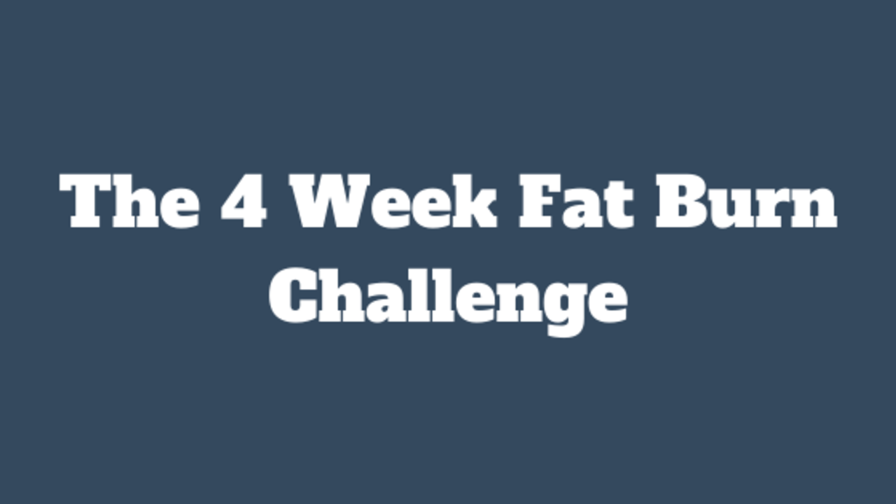 Q70jtv71rqev675jxrvk 4 week fat burn challenge