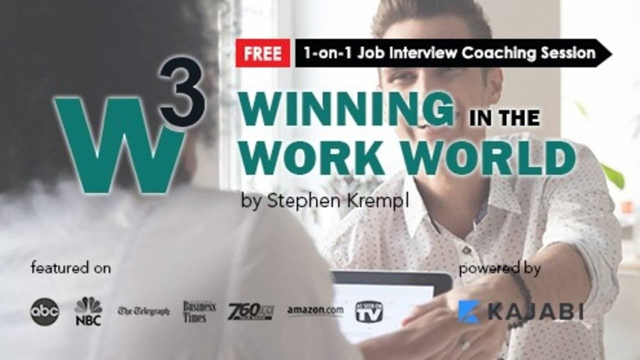 Winning in the Work World