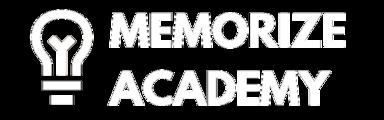 Fwcvtqudrewy2hiy11ko memorizeacademy logo white transparent