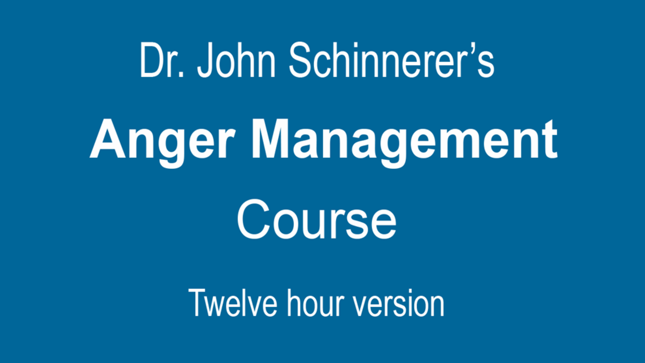 online anger management class 12 hoursultimate anger management course 12 hours