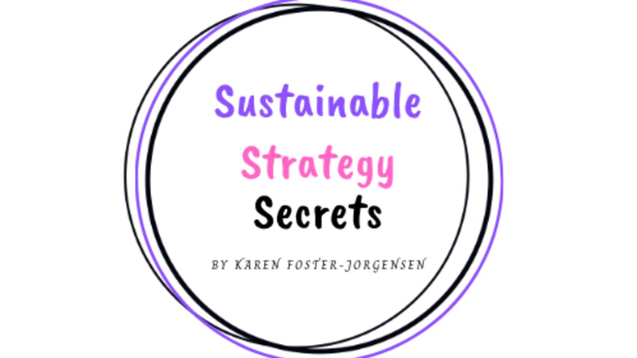 1dwdhcesa8sqdfk2sppg sustainable strategy secrets by karen foster jorgensen